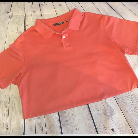 f1f61af2 Murano Shirts | Liquid Cotton Mens Polo Coral Color 2xlt | Poshmark